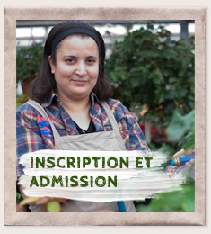 Inscription et admission